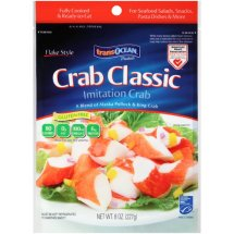 Transocean Products Classic Flake Style Crab, 8 oz