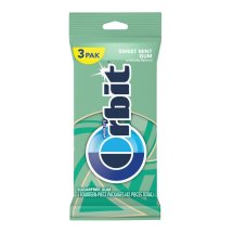 Orbit Sweet Mint Sugarfree Gum, multipack (3 packs total)