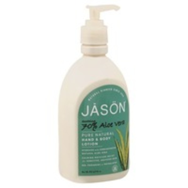 Jason Hand & Body Lotion, Soothing 70% Aloe Vera