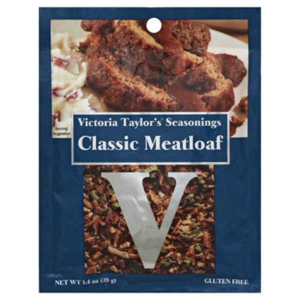Victoria Taylor's Seasonings Classic Meatloaf Seasoning