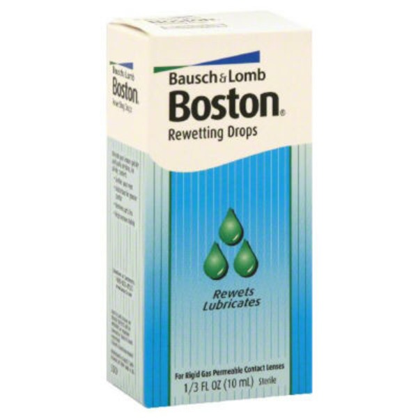 Boston Bausch & Lomb Boston Rewetting Drops