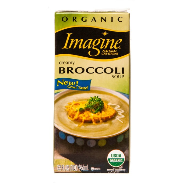 Imagine Foods Soup Creamy Broccoli Organic