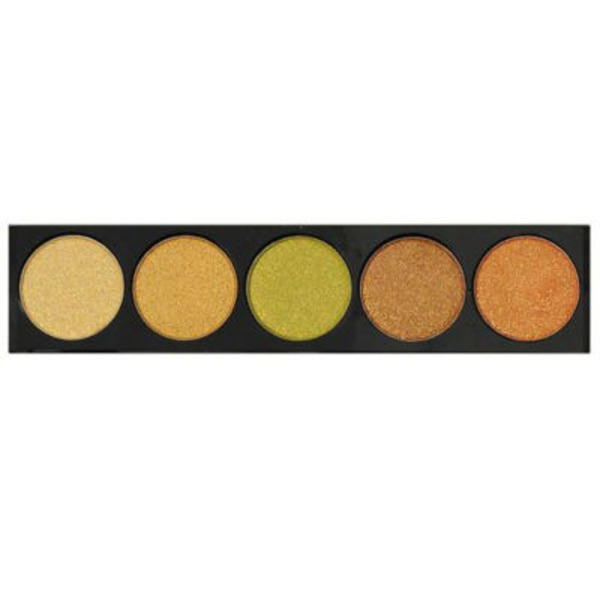 L.A. Colors Gold Rush 5 Color Metallic Eyeshadow