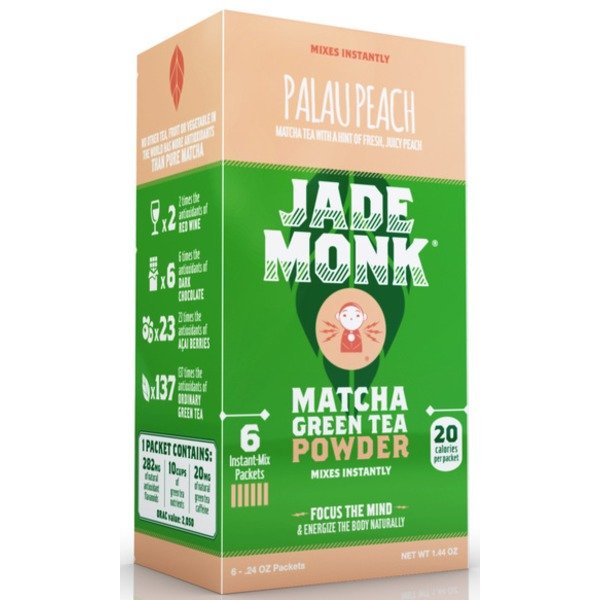 Jade Monk Palau Peach Matcha Green Tea Powder