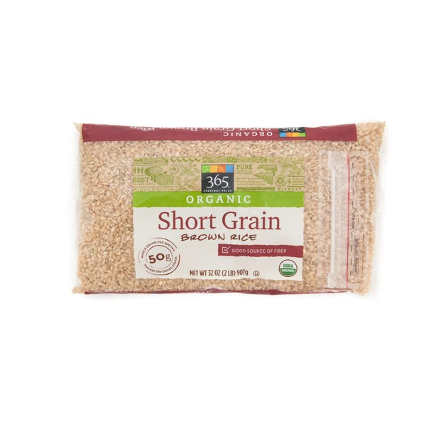 365 Organic Short Grain Brown Rice