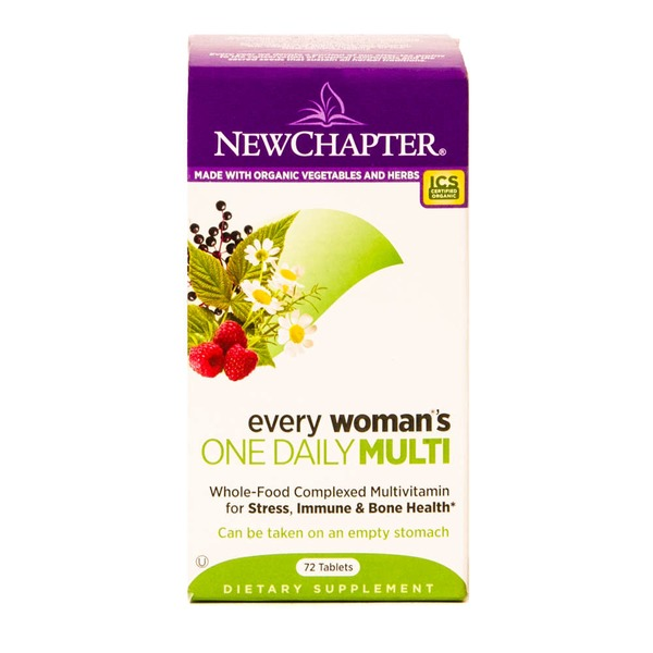 New Chapter Every Woman's One Daily Multi-Vitamin Dietary Supplement