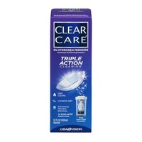 Clear Care Cleaning & Disinfecting Solution Triple Action Cleaning