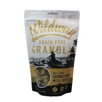 Wildway Soft and Chewy Coconut Cashew Granola