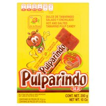 Pulparindo Hot and Salted Tamarind Pulp Candy, 10 oz