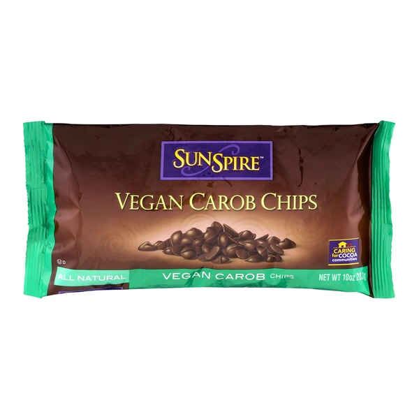 SunSpire Carob Chips, Vegan