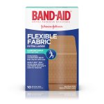 BAND-AID® Brand Flexible Fabric Adhesive Bandages for Minor Wound Care, Extra Large, 10 Count