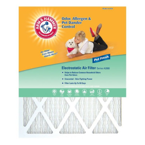 Arm & Hammer 10 In. X 20 In. X 1 In. Pet Fresh Air Filter