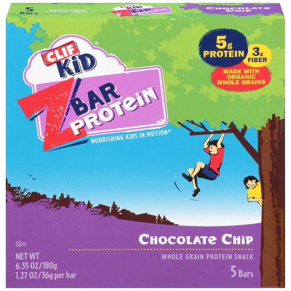 Clif Kid® Chocolate Chip ZBar Protein