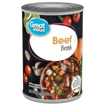 Great Value Canned Beef Broth, 14.5 oz
