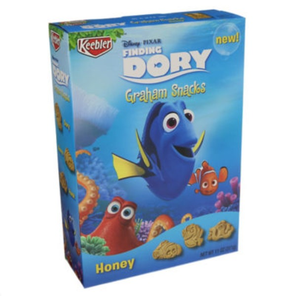 Keebler Disney/Pixar Finding Dory Honey Graham Snacks
