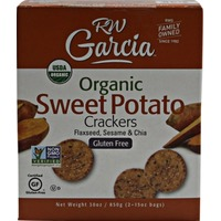 RW Garcia Organic 3 Seed Sweet Potato Crackers