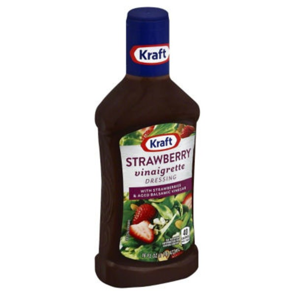 Kraft Salad Dressing Strawberry Balsamic Vinaigrette Dressing