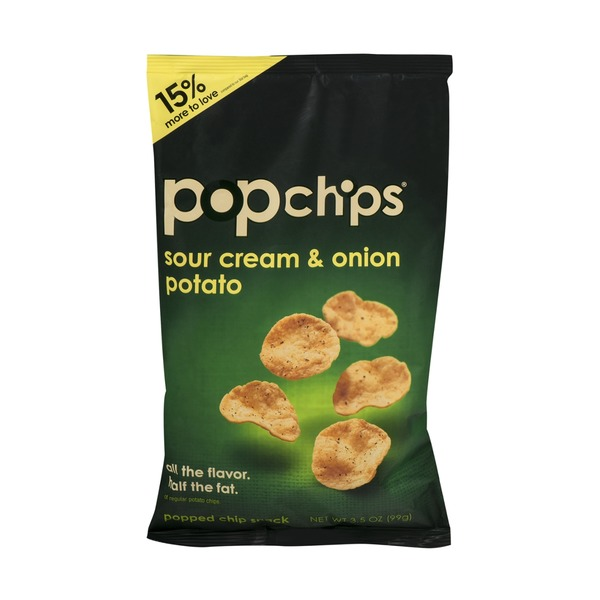 popchips Sour Cream & Onion Potato