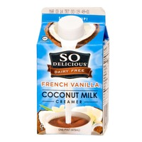 So Delicious Dairy Free Coconut Milk French Vanilla Coffee Creamer