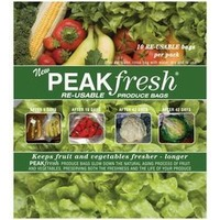 Peak Fresh Produce Bags, Re-usable