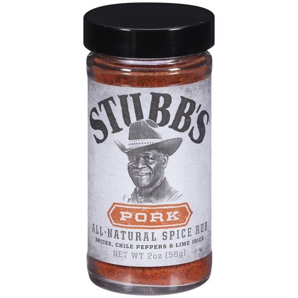Stubb's Spices, Chile Peppers & Lime Juce Pork All-Natural Spice Rub