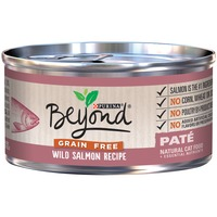 Purina Beyond Cat Wet Grain Free Wild Salmon Recipe Cat Food