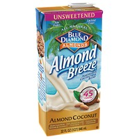 Almond Breeze Unsweetened Almond Coconut Almond Milk Non Dairy Milk Alternative