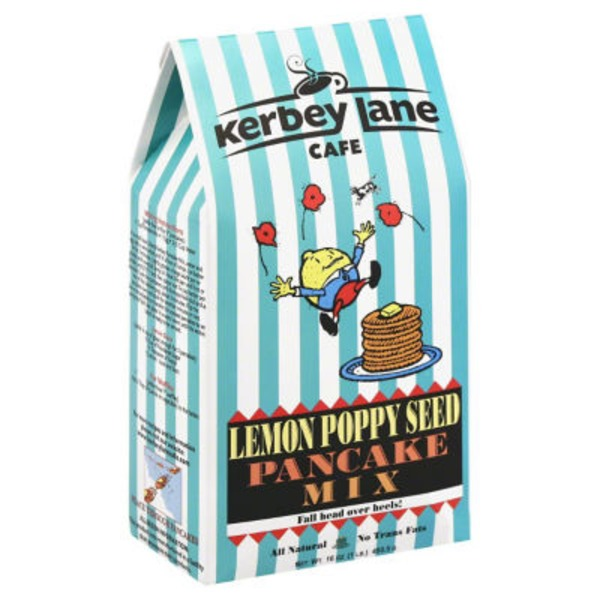 Kerbey Lane Lemon Poppy Seed Pancake Mix