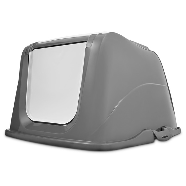 So Phresh X Large Gray Litter Box Privacy Hood