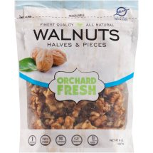 Hines Orchard Fresh Walnuts Halves & Pieces, 8 oz