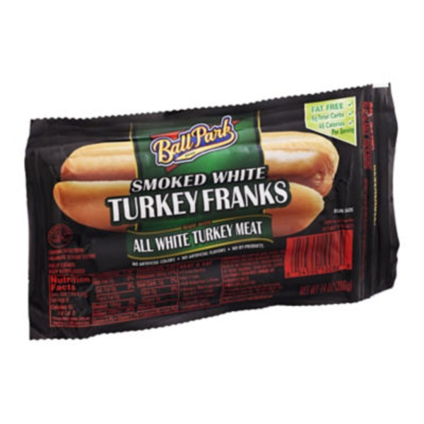 Ball Park Smoked White Turkey Franks