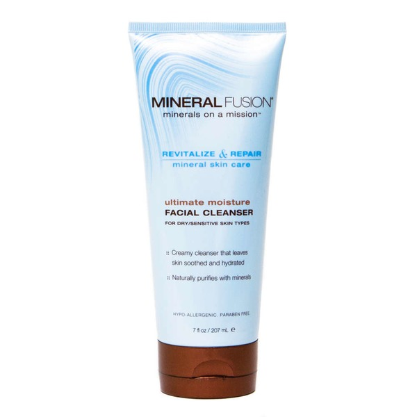 Mineral Fusion Ultimate Moisture Facial Cleanser for Dry/Sensitive Skin Types