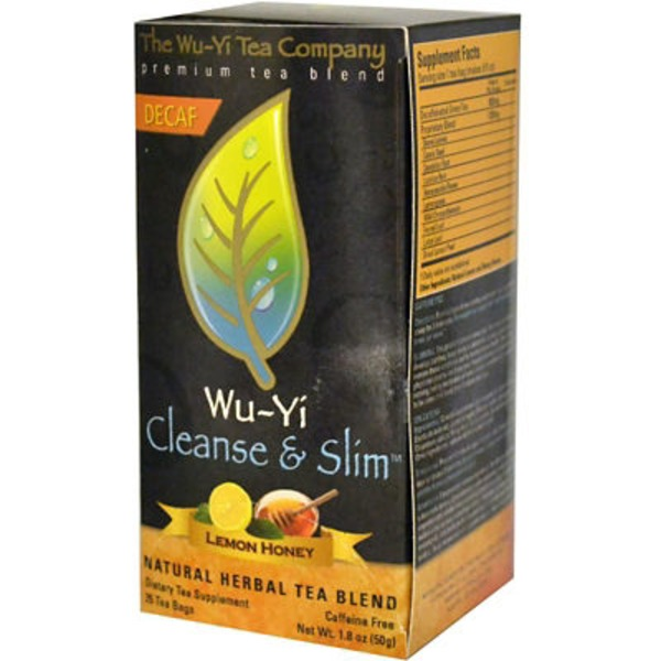 The Wu-Yi Tea Company Lemon Honey Cleanse & Slim Herbal Tea