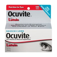 Bausch & Lomb Ocuvite with Lutein Eye Vitamin & Mineral Supplement Tablets - 120 CT