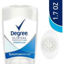 Degree Women Clinical Antiperspirant Deodorant Shower Clean 1.7 oz