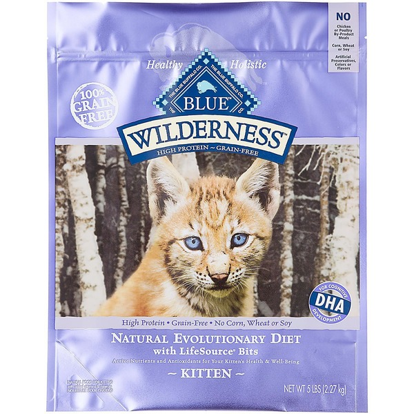 Blue Buffalo Food for Kittens, Natural, Kitten, Natural Evolutionary Diet