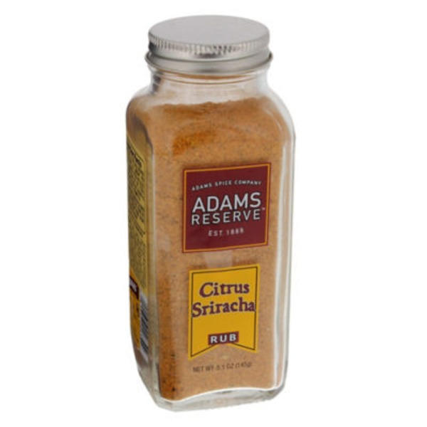 Adams Reserve Citrus Sriracha Rub