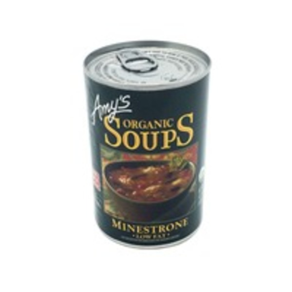 Amy's Organic Low Fat Minestrone Soup
