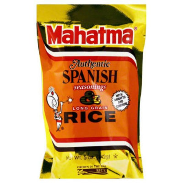 Mahatma Long Grain & Spanish Seasonings Rice