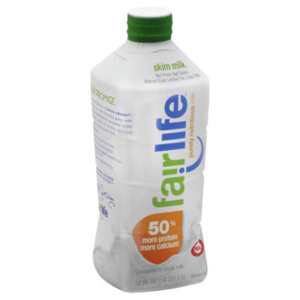 Fairlife Fat Free Ultra-Filtered Milk