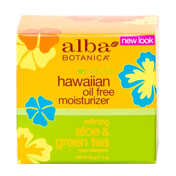 Alba Botanica Natural Hawaiian Oil Free Moisturizer - Refining Aloe & Green Tea