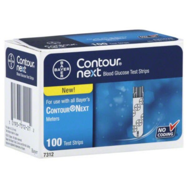 Bayer Contour Next Test Strips