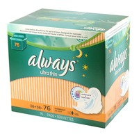 Always Ultra Thin Overnight with Flexi-Wings Pads
