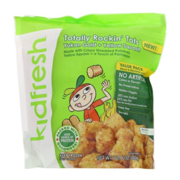 Kidfresh Totally Rockin' Tots Yukon Gold + Yellow Squash