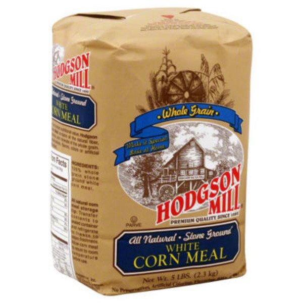 Hodgson Mill Corn Meal, White, Old Fashioned