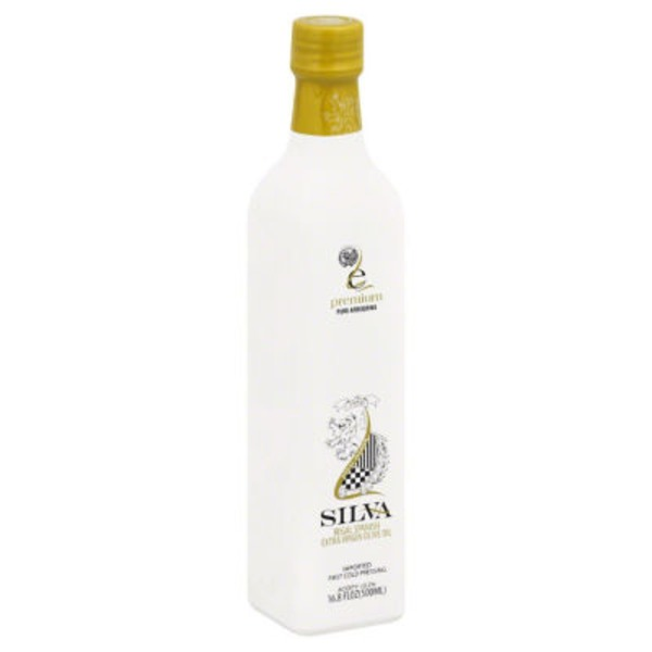 Silva Regal Spanish Extra Virgin Olive Oil Premium Pure Arequina