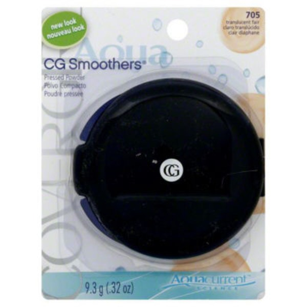 CoverGirl Smoothers COVERGIRL Smoothers Pressed Powder, Translucent Fair .32 oz (9.3 g) Female Cosmetics