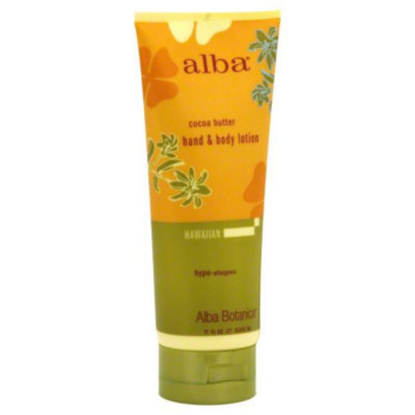 Alba Botanica Hawaiian Hand & Body Lotion Natural