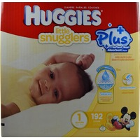 Huggies Little Snugglers Plus, Size 1