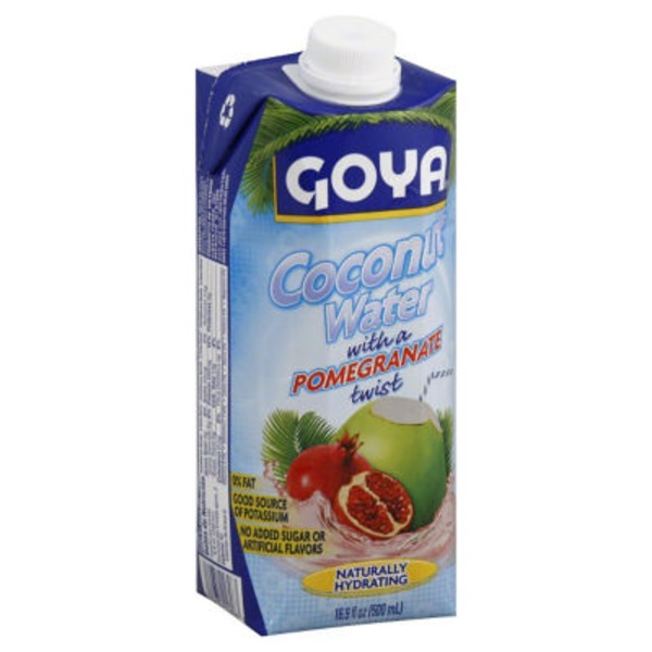 Goya Coconut Water With A Pomegranate Twist